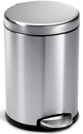 simplehuman 4.5 liter trash can