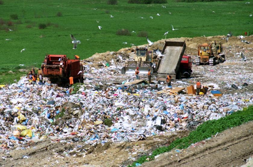 plastic material trash