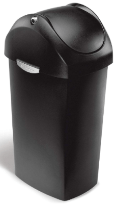 simplehuman 16 gallon trash can