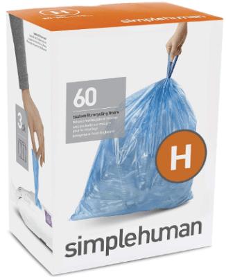 simplehuman trash bags h