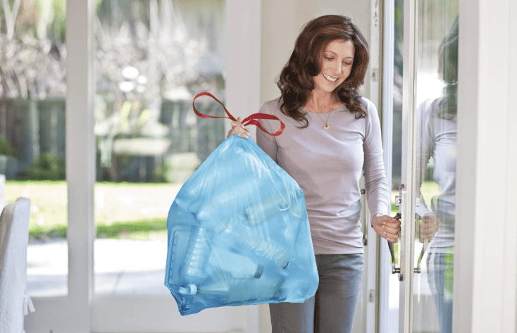 Glad Drawstring Trash Bags