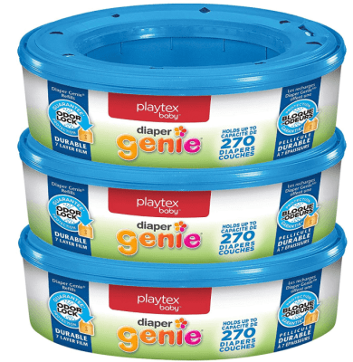 playtex diaper genie refill bags 3 pack 810 count