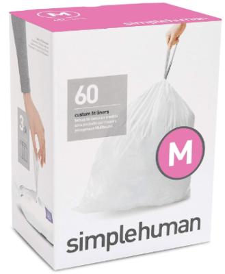 simplehuman trash can liners m