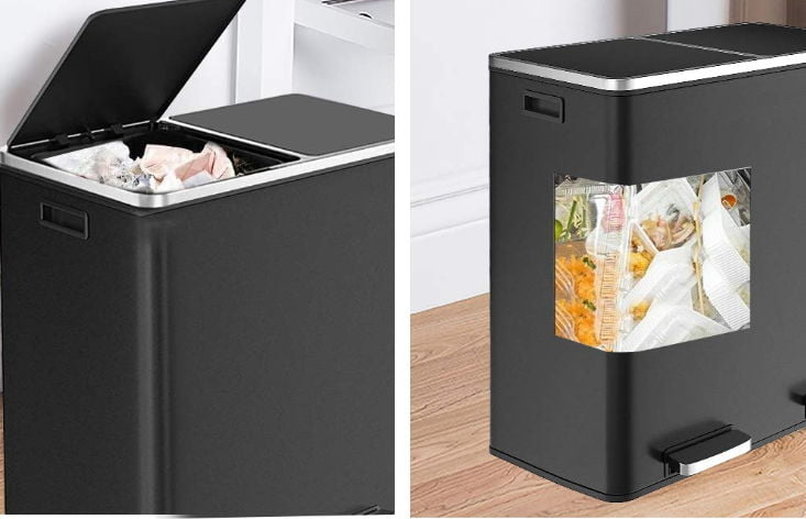 16 gallon trash can