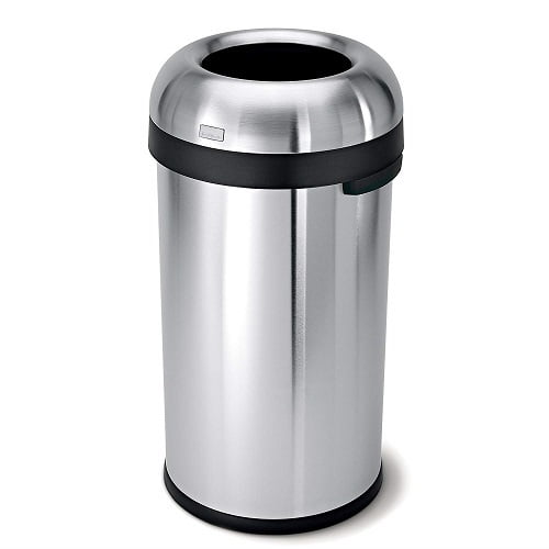 Open Top Trash Can Commercial Grade