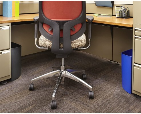 Safco Desk-Side Waste Recycling Trash Can