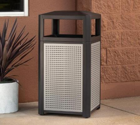 Safco Trash Can