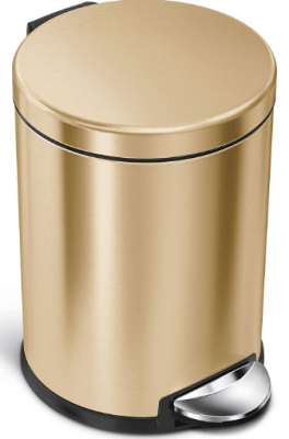 decorative trash can with lid