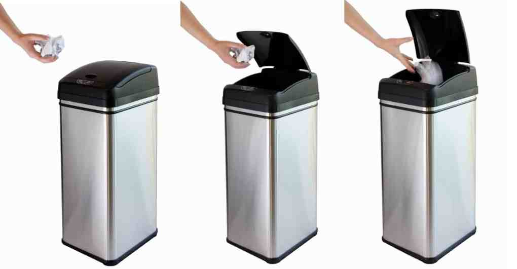 itouchless automatic kitchen trash can