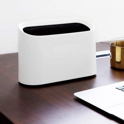 desktop trash can