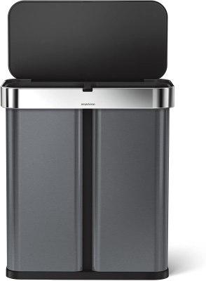 sensor trash can