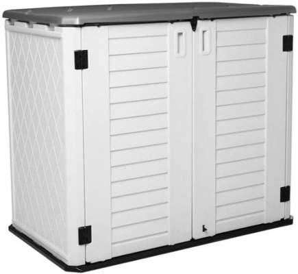 Outdoor Trash Can Storage