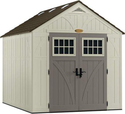 Suncast Tremont Storage Shed 8x10