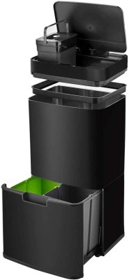 Waste Sorting Bin With Lid