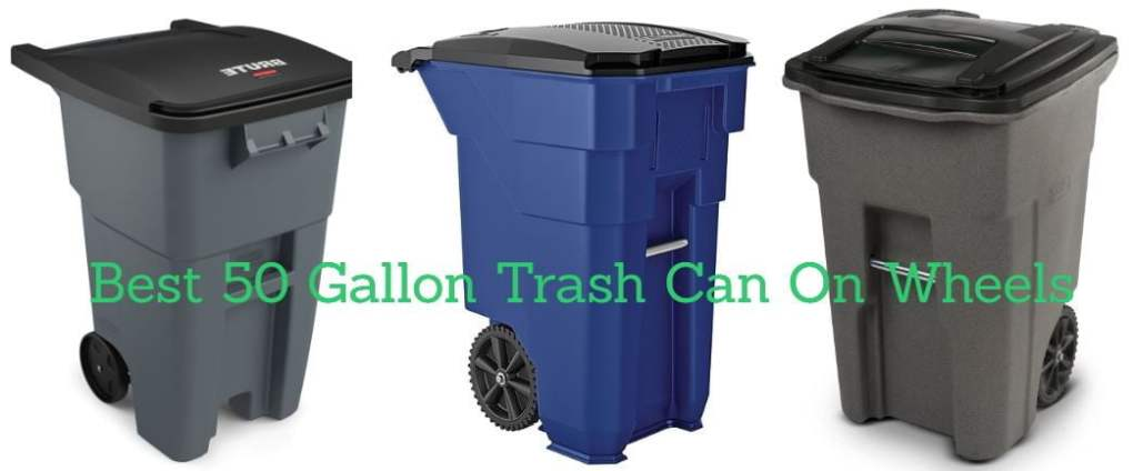 50 Gallon Trash Can With Wheels