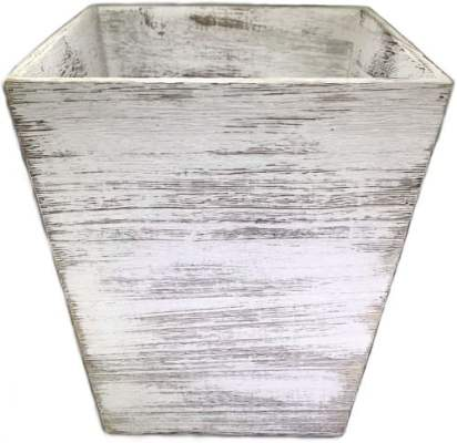 Ahaus Imports - Rustic Wood Waste Basket