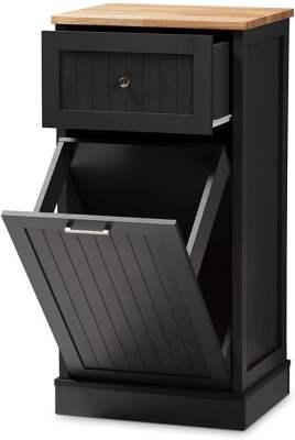 Baxton Studio Monica Kitchen Cabinet