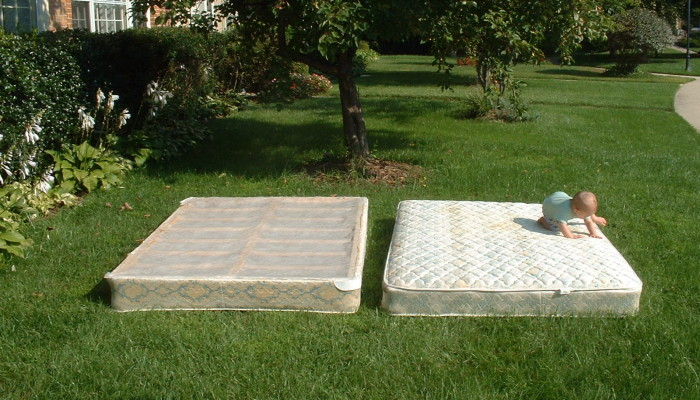 Recycling A Mattress And Box Spring Trashmagination