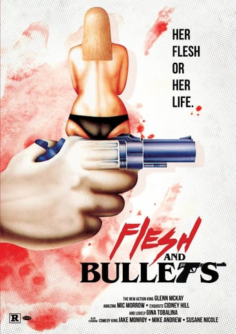 "Poster for the movie ""Flesh and Bullets"""