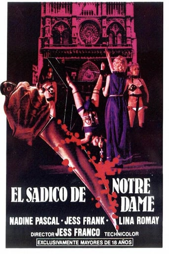 "Poster for the movie ""The Sadist of Notre Dame"""
