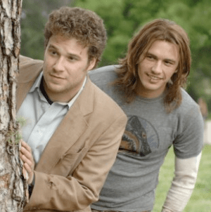 Seth Rogen and James Franco in Pineapple Express