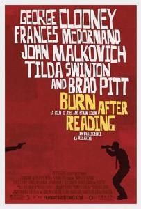 Burn After Reading by Joel and Ethan Coen
