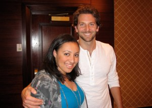 Bradley Cooper with trashwire's Alexis Gentry