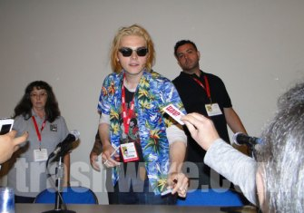 Gerard Way speaks at Comic Con 2010