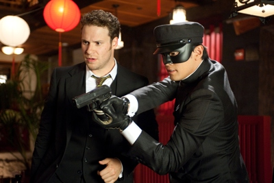 Rogen flips the script in The Green Hornet