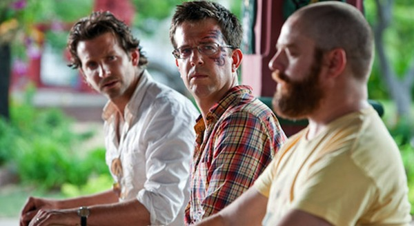 Bradley Cooper, Ed Helms and Zach Galifianakis in The Hangover Part II