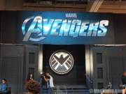 The Avengers booth