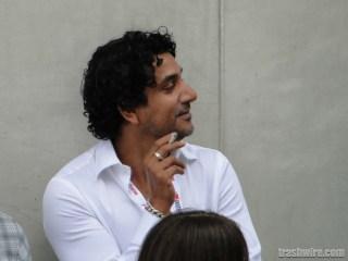 Naveen Andrews at Comic Con 2013
