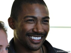 Charles Michael Davis at Comic Con 2013