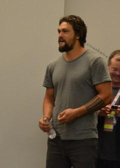 Jason Momoa at the Wolves panel at San Diego Comic Con 2013