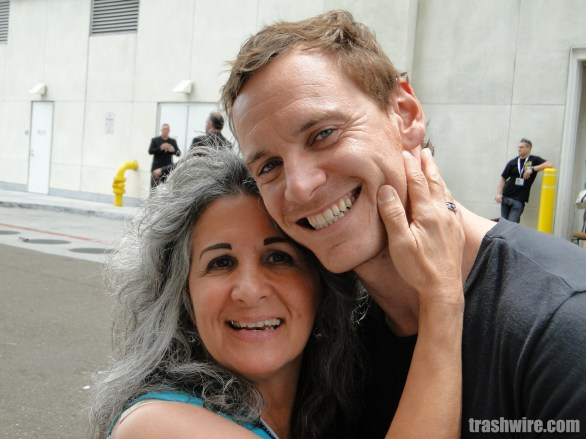 Pat Sue and Michael Fassbender