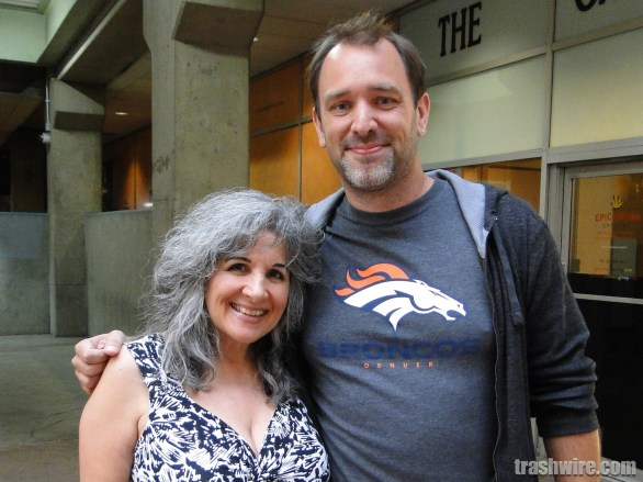Pat Sue and Trey Parker