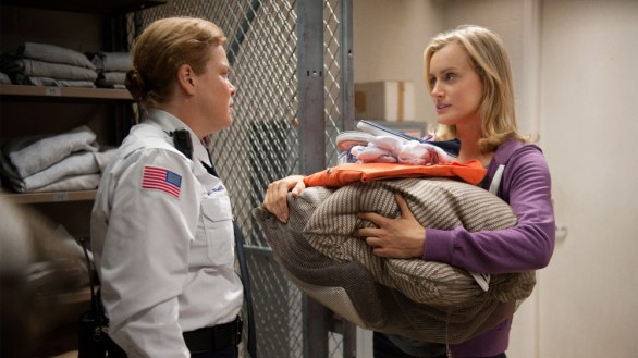 Taylor Schilling stars in Orange is the New Black on Netflix