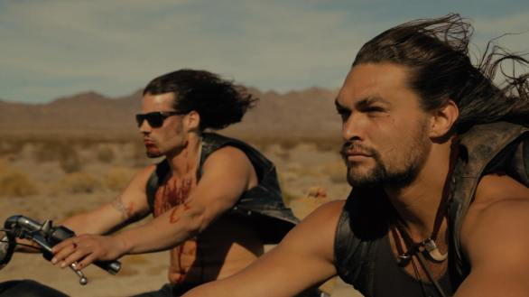 Robert Homer Mollohan and Jason Momoa in Road to Paloma