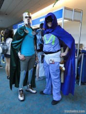 Professor Chaos and Mysterion cosplay at Comic Con 2014