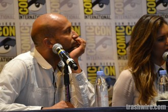 Keegan-Michael Key and Nina Dobrev at Comic Con 2014
