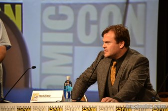 Jack Black at the Goosebumps panel at Comic Con 2014
