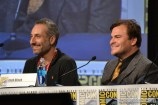 Rob Letterman and Jack Black at the Goosebumps panel at Comic Con 2014 SDCC