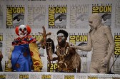The monsters of Goosebumps at Comic Con 2014