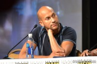Keegan-Michael Key at the Key & Peele panel at Comic Con 2014