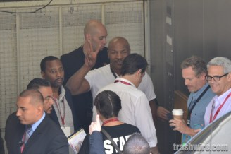 Mike Tyson at Comic Con 2014