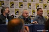 Guillermo del Toro, Ron Perlman and Channing Tatum at Comic Con 2014