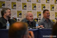 Guillermo del Toro, Ron Perlman and Channing Tatum at Comic Con 2014