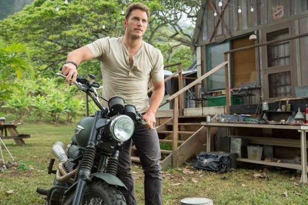 "CHRIS PRATT stars as behavioral researcher Owen in ""Jurassic World"". Steven Spielberg returns to executive produce the long-awaited next installment of his groundbreaking ""Jurassic Park"" series. Colin Trevorrow directs the epic action-adventure, and Frank Marshall and Patrick Crowley join the team as producers."