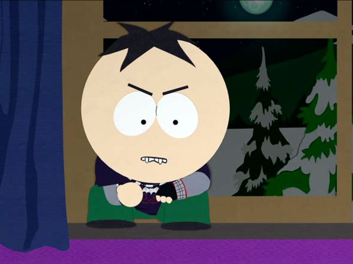 Butters becomes a vampire in South Park's Unroundable episode