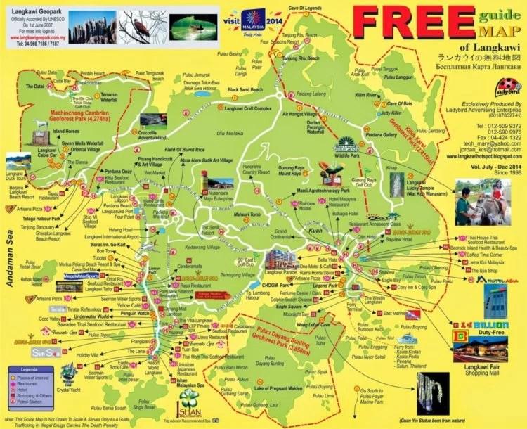 Langkawi Mapa